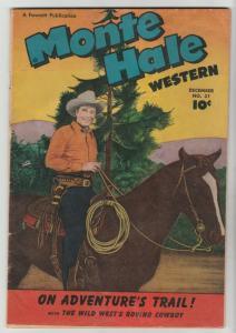 Monte Hale Western #31 (Dec-48) FN+ Mid-High-Grade Monte Hale, Gabby Hayes
