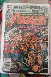 Avengers 216  FN/VF