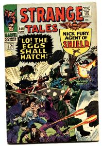 STRANGE TALES #145 comic book-NICK FURY/DOCTOR STRANGE VF
