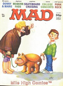 MAD (MAGAZINE) #197 BRITISH Good