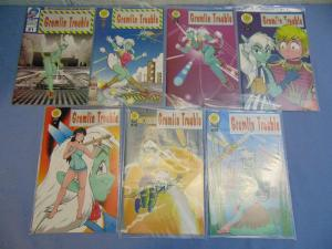 Gremlin Trouble Issues #1 to #7 Anti-Ballistic Pixelations English Manga Comics