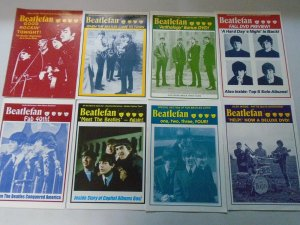 Beatlefan Magazine lot 15 different early issues