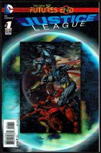 Futures End Justice League 3-D Cover (2014, DC) 9.6 NM+