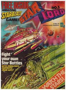 STAR LORD (BRITISH WEEKLY) 3 ( 5/27/78) VF-NM w/premium