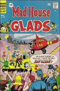 Archie THE MADHOUSE GLADS #74 VG