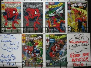 SPIDERMAN (1990) 1(GREEN,1(SILVER),2-5  Torment  Todd