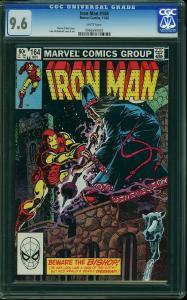 Iron Man #164 (Marvel, 1982) CGC 9.6