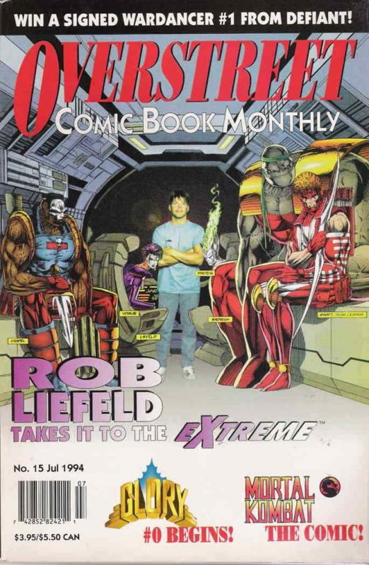 Overstreet's Comic Book Monthly #15 FN; Overstreet | save on shipping - details