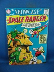 SHOWCASE 16 F VF SPACE RANGER SCARCE 1958