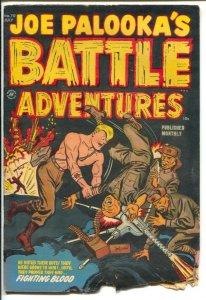 Joe Palooka's Battle Adventures #70 1952-Harvey-Korean war stories-commies-P/FR