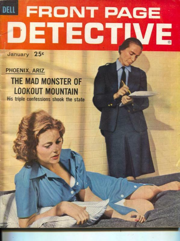 Front Page Detective-1/62-Murder-Killers-Confessions-VG