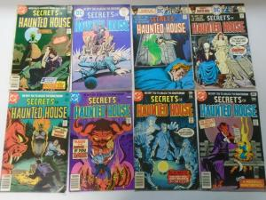 DC Horror Comic Lot Secrets of Haunted House From:#2-45, 31 Different Avg 4.0 VG