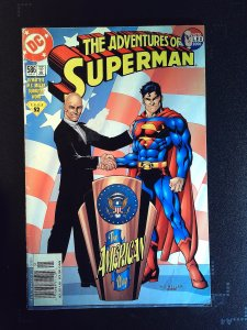 Adventures of Superman #586 (2001)