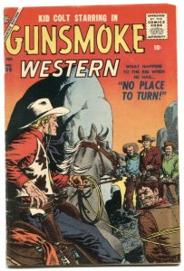 Gunsmoke Western #39 1957- KID COLT- Atlas comic VG/F