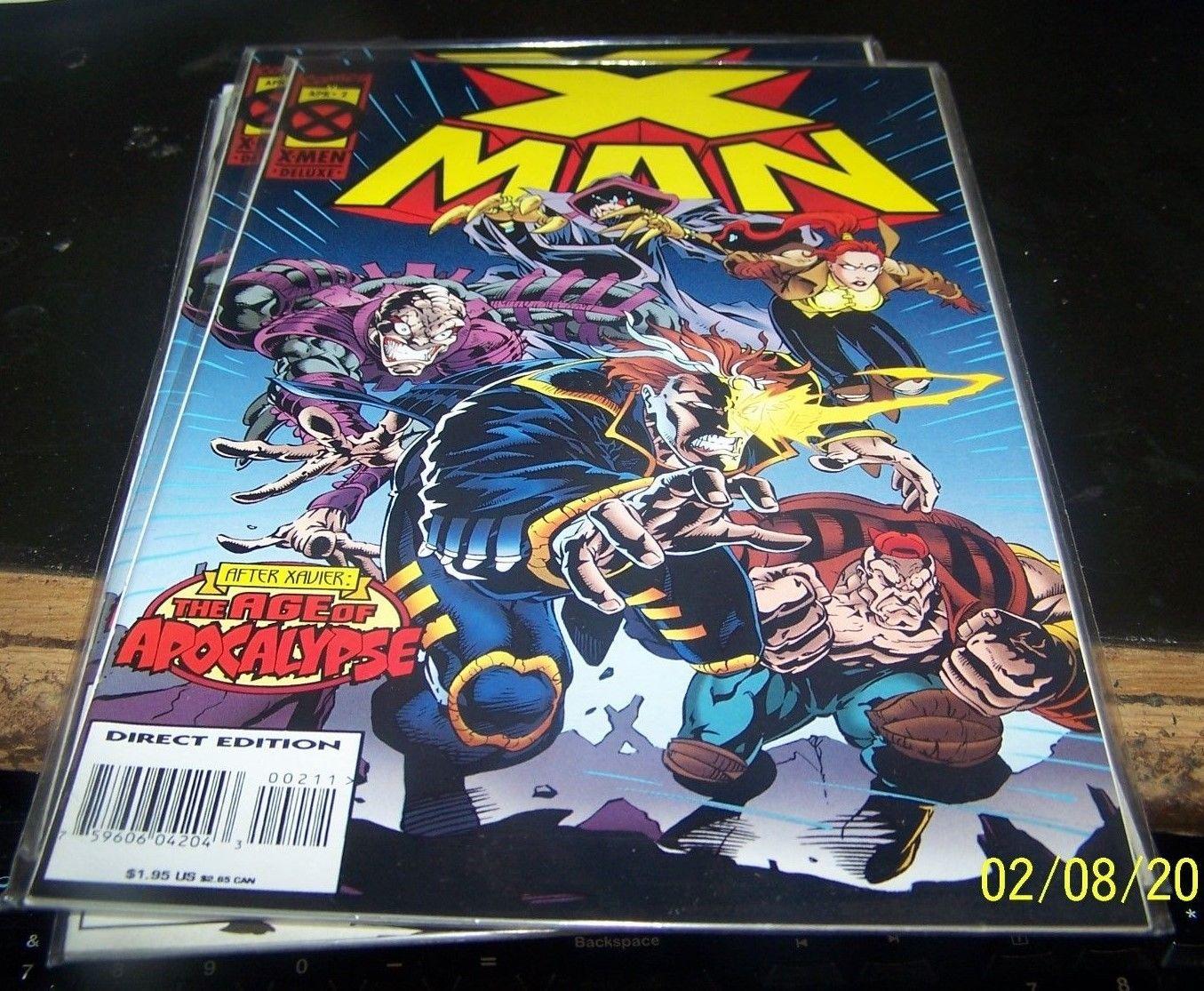 X-Man 1 Marvel 1995