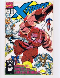 X-FORCE #3, NM, Juggernaut, Cable, ShatterStar, Nicieza, 1991, more XF in store
