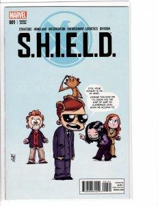 SHIELD (2015) #1 Skottie Young alternate Cover VF/NM (9.0)