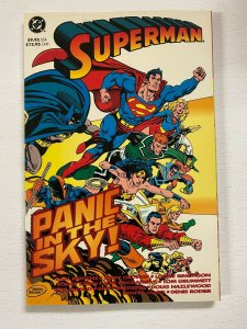 Superman Panic in the Sky #1 DC 1st Edition 8.0 VF (1993)