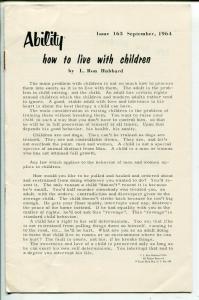Ability #163-9/1964-LRH-L Ron Hubbard-VF