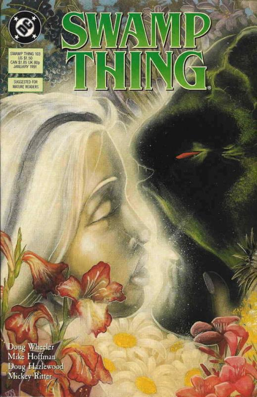 Swamp Thing (2nd Series) #103 VF/NM; DC | save on shipping - details inside