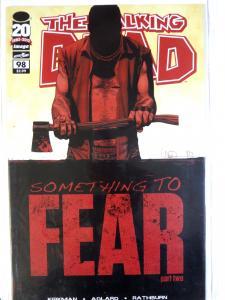 Lot of WALKING DEAD comics #98, 109, 110, 115-cover E  Image Robert Kirkman