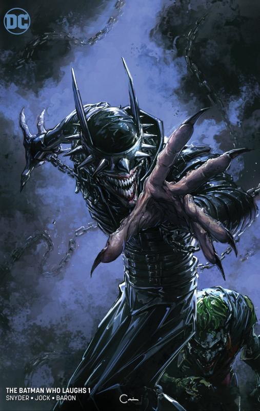 BATMAN WHO LAUGHS 1 CLAYTON CRAIN VIRGIN VARIANT SCORPION COMICS