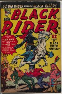 Black Rider #13 1951-Atlas-Bat Masterson-George Tuska-rare-G