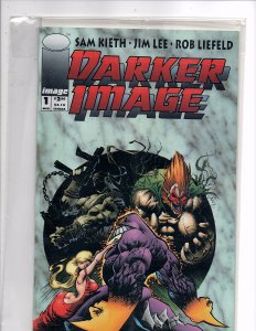 Image Comics Darker Image #1 Poly-Bagged Un-open w/Card