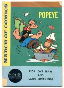 March of Comics #246 1963-Popeye- Sears Promo Comic