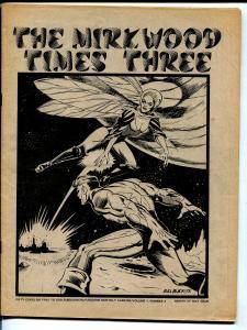 Mirk-Wood Times #3 1973-Adzine-Bill Black-TBG feud-Stroud-FN