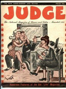 Judge Magazine June 1947- humor & cartoon