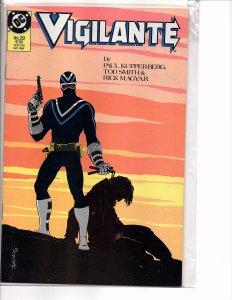 DC Comics Vigilante #29 Marshall Rogers Cover