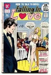 FALLING IN LOVE #127 COMIC BOOK Singer cover 1971-DC ROMANCE COMIC