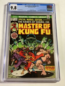 Special Marvel Edition 15 Cgc 9.8 Ow/w Pages 1st Shang Chi Bronze Age