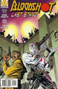 Bloodshot: Last Stand #1 VF/NM; Valiant | save on shipping - details inside