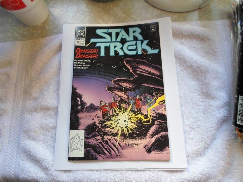 1990 DC COMIC STAR TREK # 13