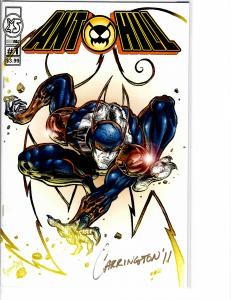 Ant Hill (2011) 1 nm (9.4) Signed in Gold Rare