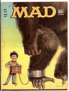 MAD Magazine #112 1967-Mingo-Martin-Berg-Drucker-Tvarzan-G+
