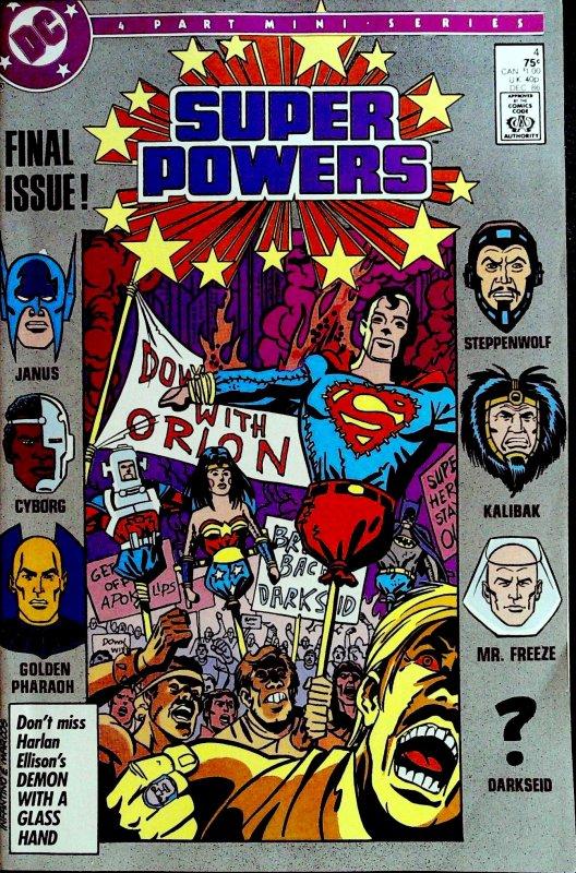 Super Powers  #4 (1986)