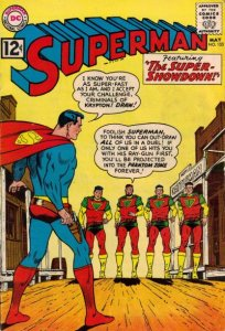 Superman #153 (ungraded) stock photo / SCM