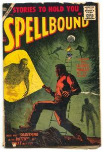 Spellbound #32 1957-ATLAS-ANGELO TORRES-HORROR- G/VG