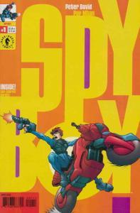 SpyBoy #1 VF; Dark Horse | save on shipping - details inside