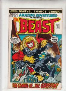 Amazing Adventures #15 (Sep-71) VF/NM- High-Grade The Beast
