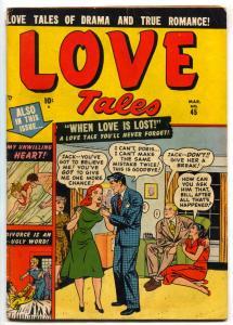 Love Tales #45 1951- Divorce is an Ugly word- Atlas comic VG