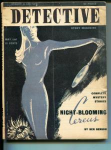 Detective Story Magazine 5/1947-Street & Smith-crime pulp-VG