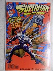 SUPERMAN MAN OF STEEL # 70