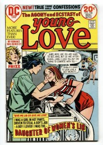 Young Love #106 comic book 1973- Daughter of Woman's Lib- Sex Object cover
