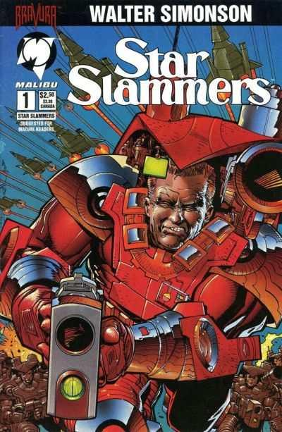 Star Slammers (1994 series) #1, NM (Stock photo)