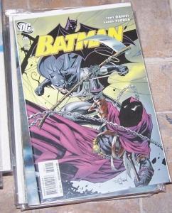 Batman #695 2010, DC comics  black mask penguin