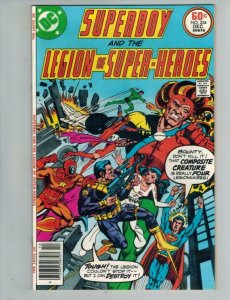 SUPERBOY and the LEGION of SUPER-HEROES #234, VF+, Composite creature, DC, 1977